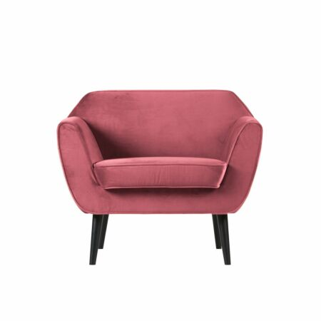 Rocco fauteuil Woood roze