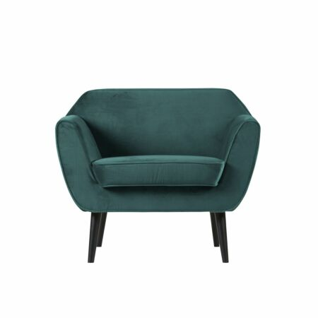 Rocco fauteuil Woood teal