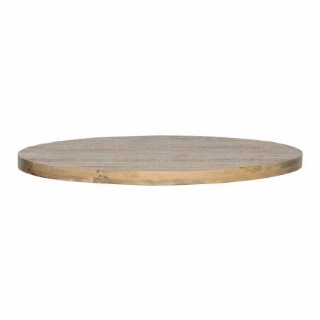 Tablo tafelblad Woood mango - Ø120cm