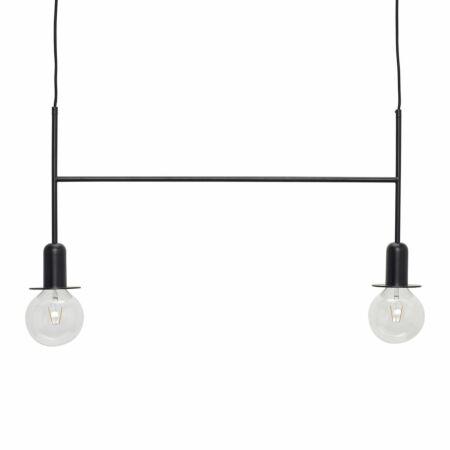 Zendini hanglamp Hübsch zwart