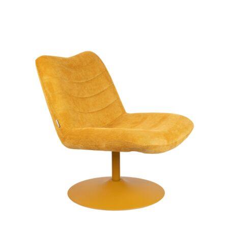 Bubba fauteuil Zuiver - Okergeel