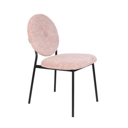Mist eetkamerstoel Zuiver - Roze