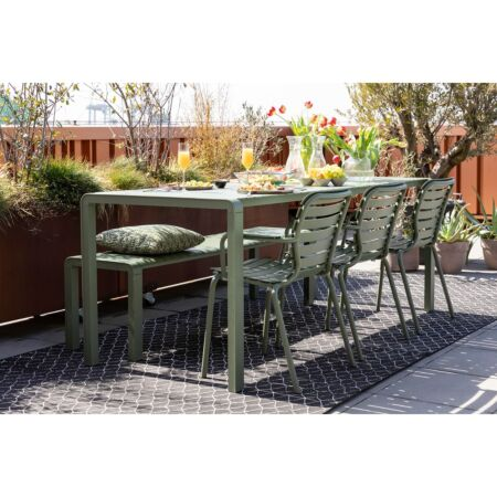 Vondel tuinstoel met armleuning Zuiver - Groen