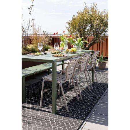 Vondel tuinstoel met armleuning Zuiver - Klei