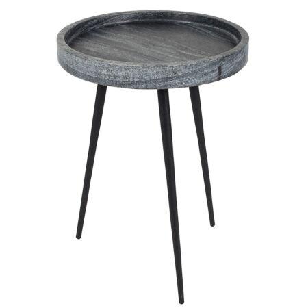 Karrara bijzettafel Zuiver grijs - VERHUIS SALE