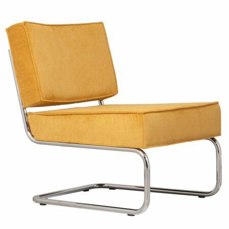 Ridge fauteuil Zuiver geel