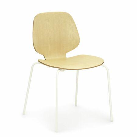 My Chair eetkamerstoel Normann Copenhagen essen - wit