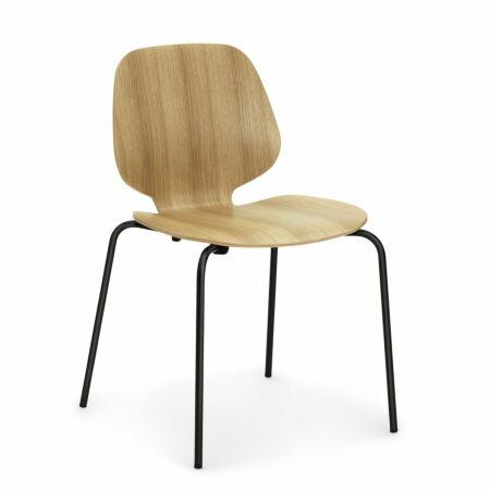 My Chair eetkamerstoel Normann Copenhagen eiken - zwart