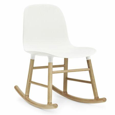 Form Rocking fauteuil Normann Copenhagen eiken wit