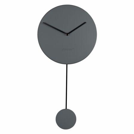 Minimal klok Zuiver grijs