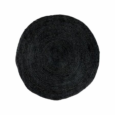 Bombay vloerkleed House Nordic Ø90 - zwart