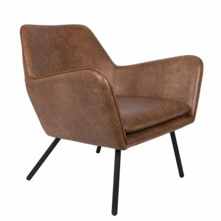 Bon fauteuil Luzo cognac