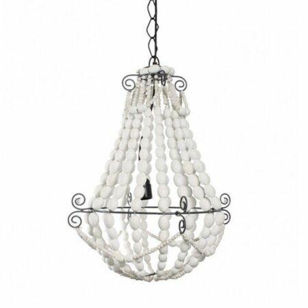 King hanglamp Bodilson wit