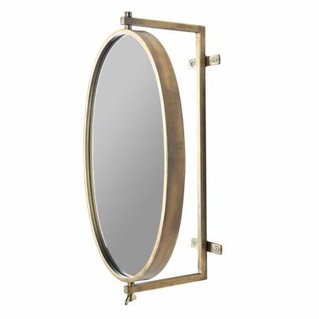 Lara spiegel Luzo messing