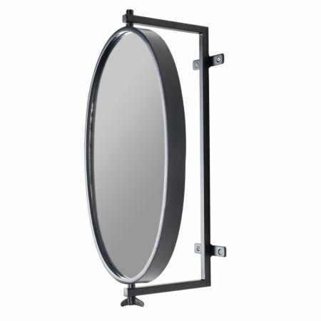 Lara spiegel Luzo zwart