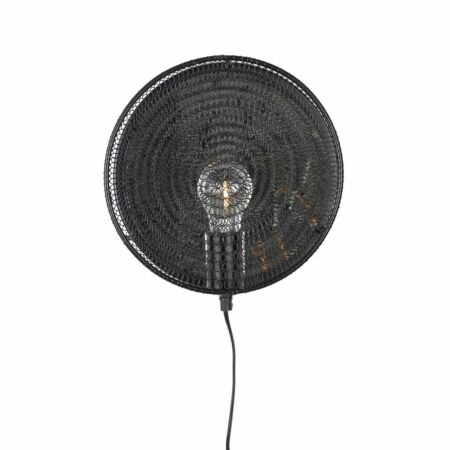 Lea wandlamp Luzo zwart