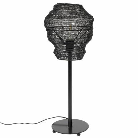 Lena tafellamp Luzo zwart