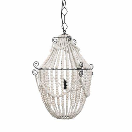 Queen hanglamp Bodilson wit