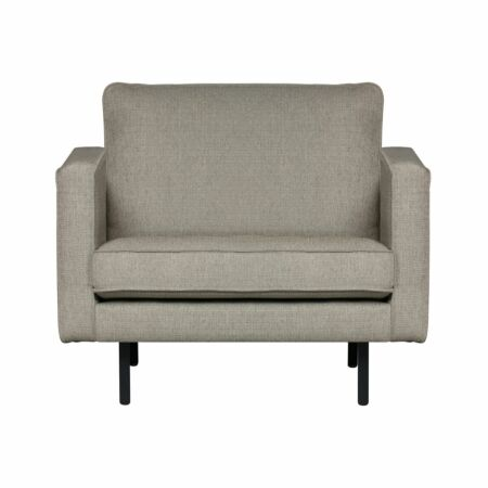 Rodeo fauteuil BePureHome nougat