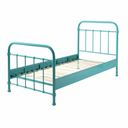 New York kinderbed Vipack - turquoise