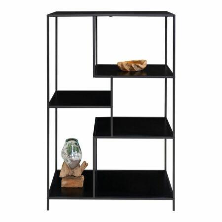 Vita wandkast House Nordic asymmetrisch zwart - VERHUIS SALE