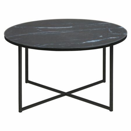 Yllene salontafel Liv rond zwart