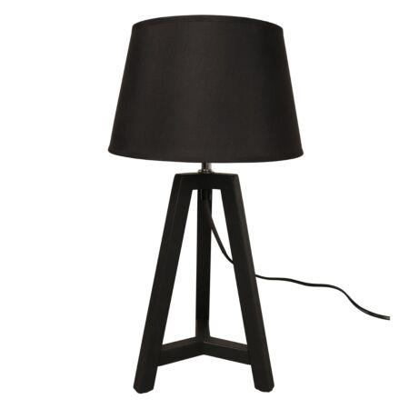 Omar tafellamp Woood Exclusive - zwart