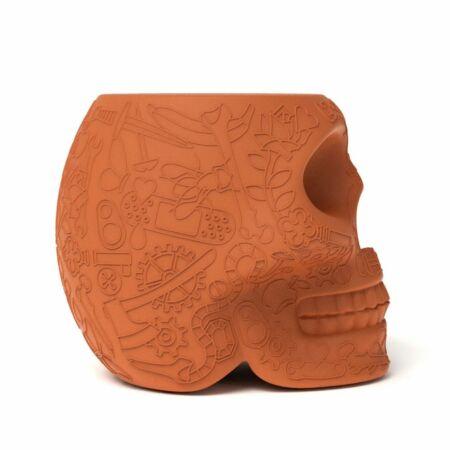 Mexico kruk/bijzettafel Qeeboo terracotta