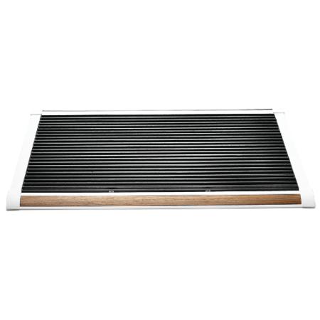New Standard deurmat Rizz wit teak 120cm
