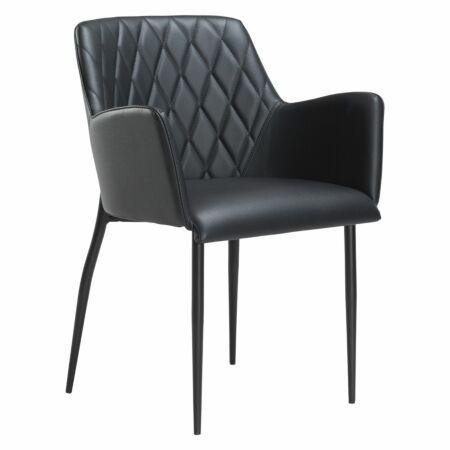 Rombo eetkamerstoel Dan-Form zwart