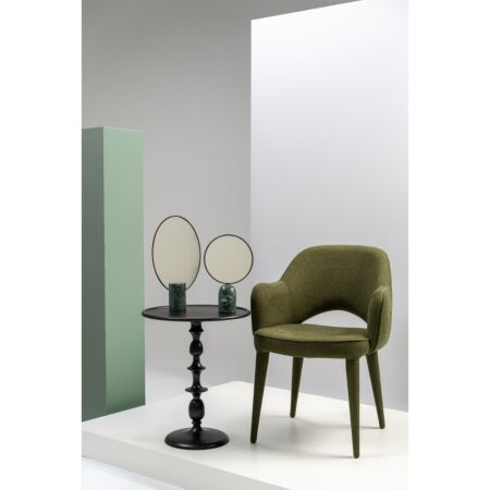 Spiegel rond Pols Potten - groen