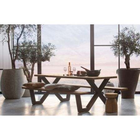 Tablo outdoor picknicktafel Woood - X-poot