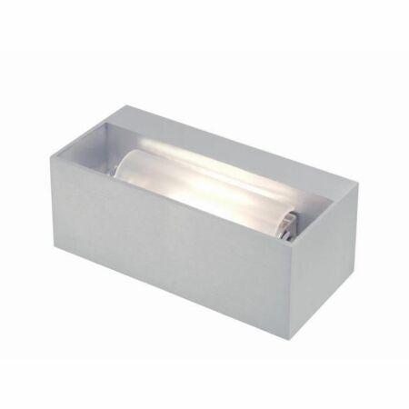 Outlet - Tibo wandlamp Toss B geborsteld aluminium