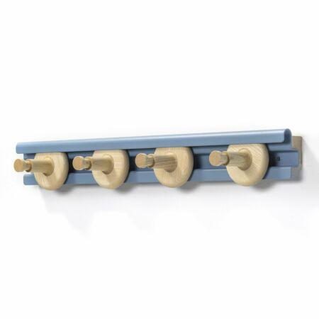 Wheels wandkapstok Van Esch 80cm - lichtblauw