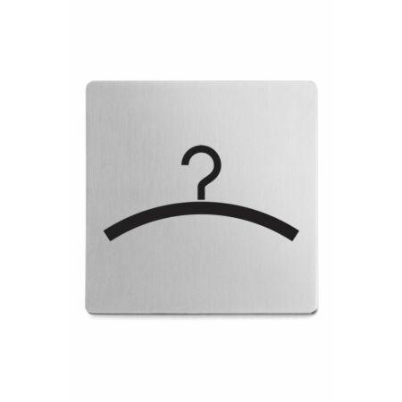 OUTLET - Indici pictogram Zack 'garderobe' mat