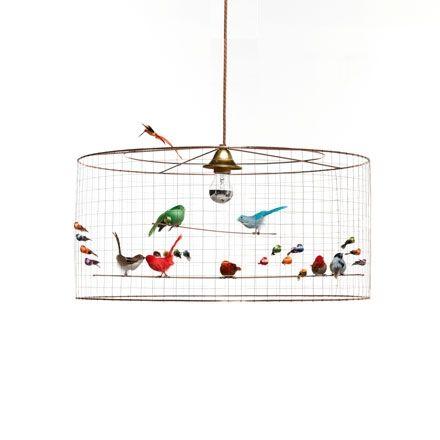 Demi-Grande Volière hanglamp Challières