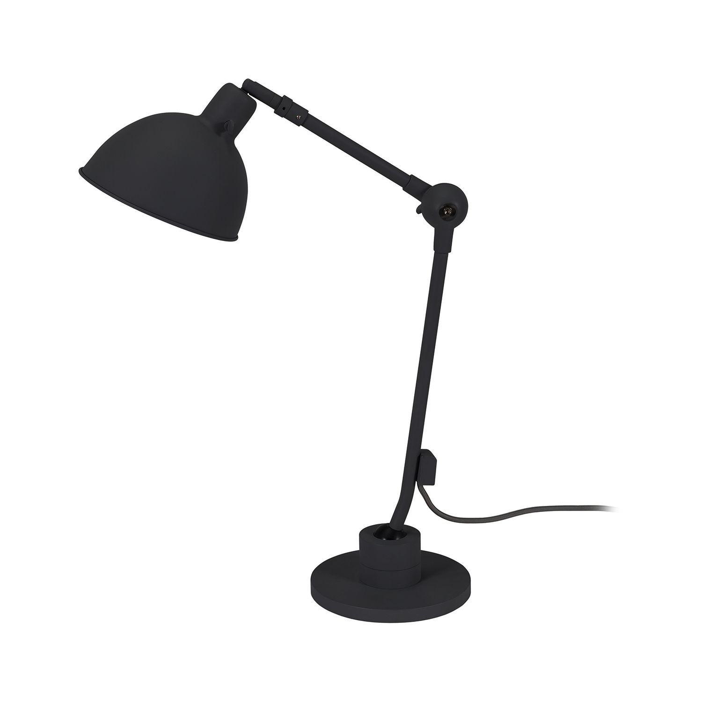 Dixie tafellamp Bodilson zwart