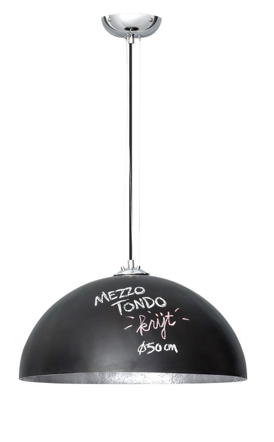 Mezzo Krijt hanglamp ETH zwart/zilver � 50cm