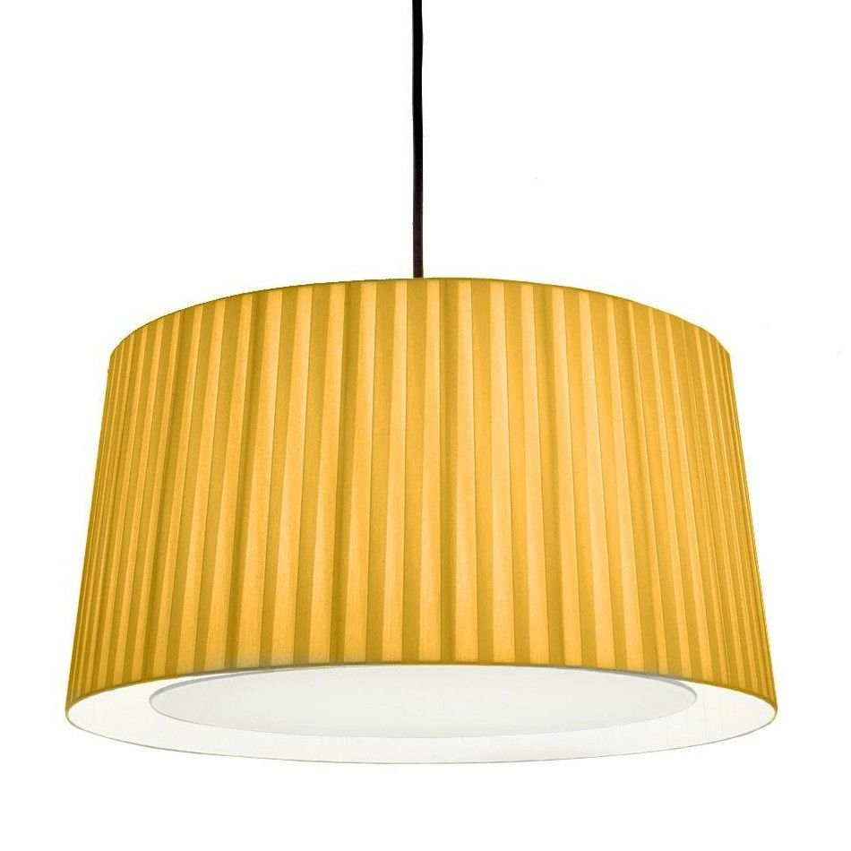 OUTLET - GT5 lampenkap Mosterd met witte diffusor
