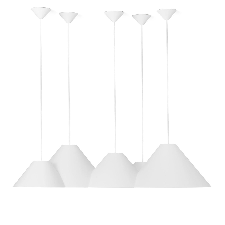 Lampscapes 5 Peaks hanglamp Roijé wit basic