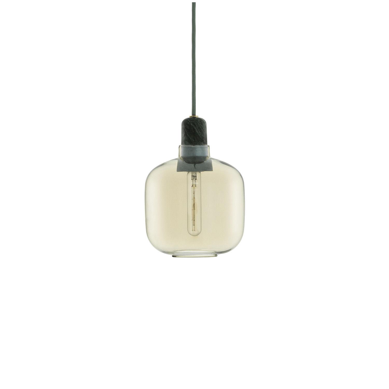 Amp hanglamp Normann Copenhagen klein goud groen