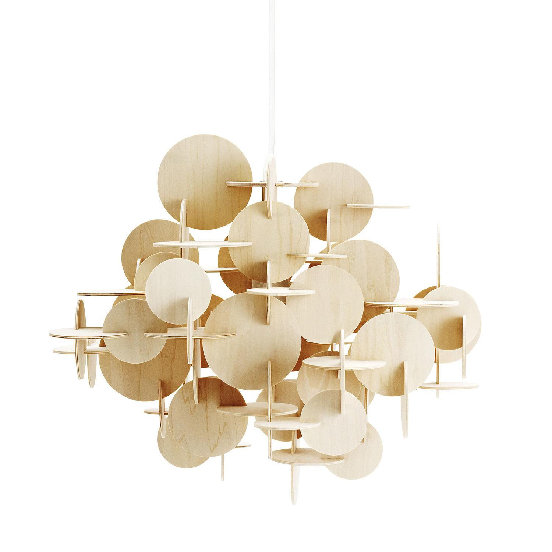 Bau hanglamp Normann Copenhagen groot naturel