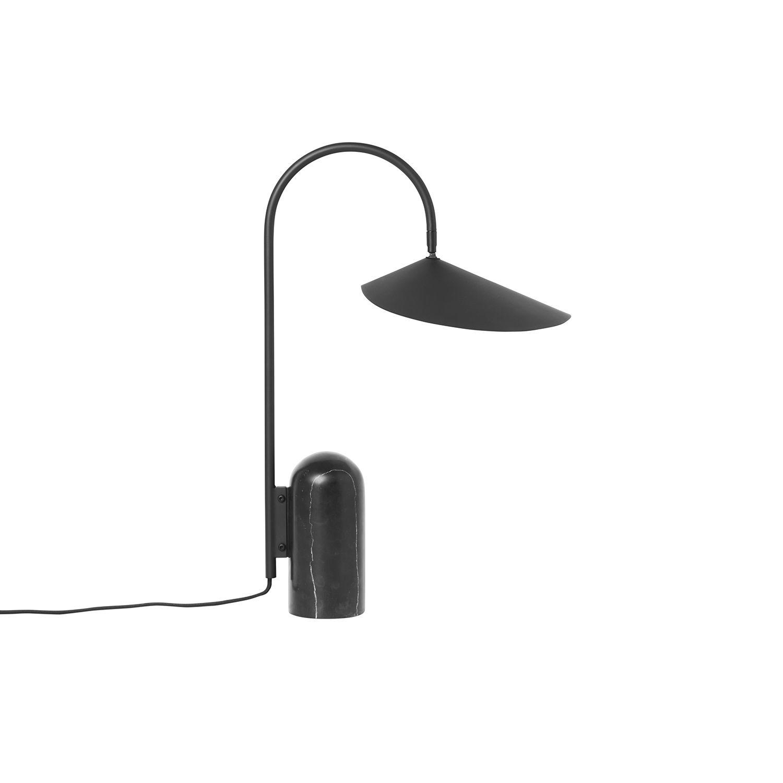 Arum tafellamp Ferm Living zwart