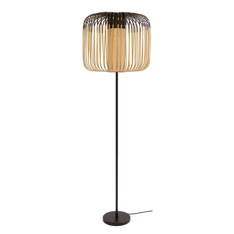 Bamboo vloerlamp Forestier zwart