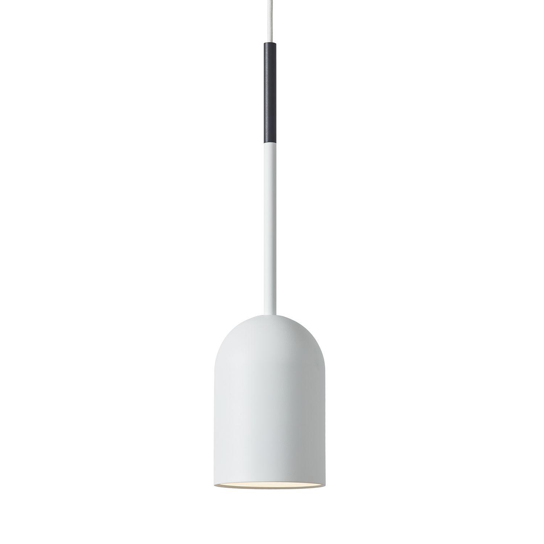 Beaming Bobber hanglamp Frederik Roijé pencil wit - donkergrijs