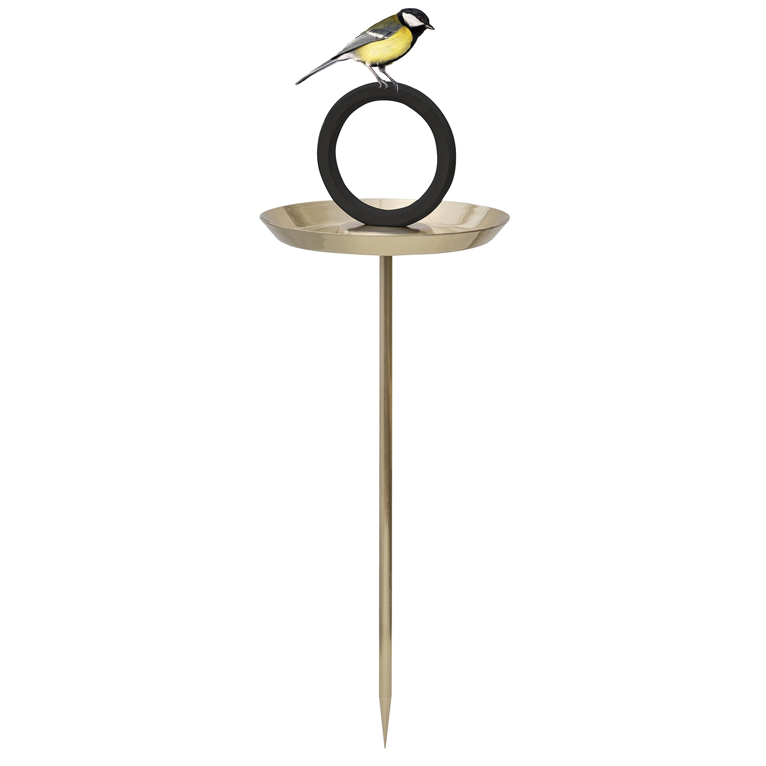 Bird Bath vogelbadje Born in Sweden goud