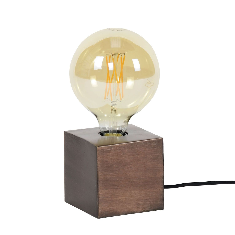 Block tafellamp Kay koper