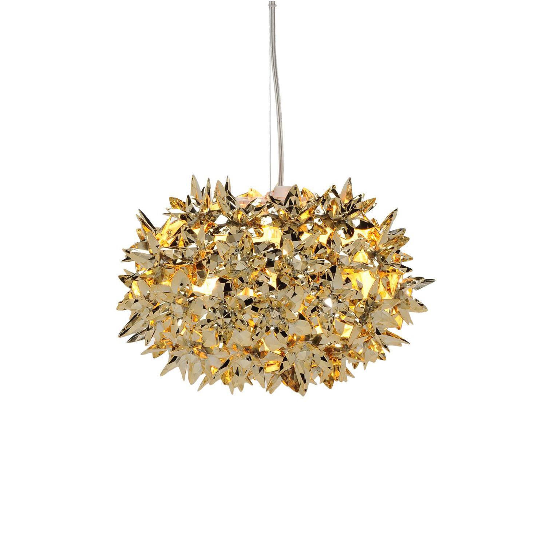 Bloom hanglamp Kartell Ø28 goud
