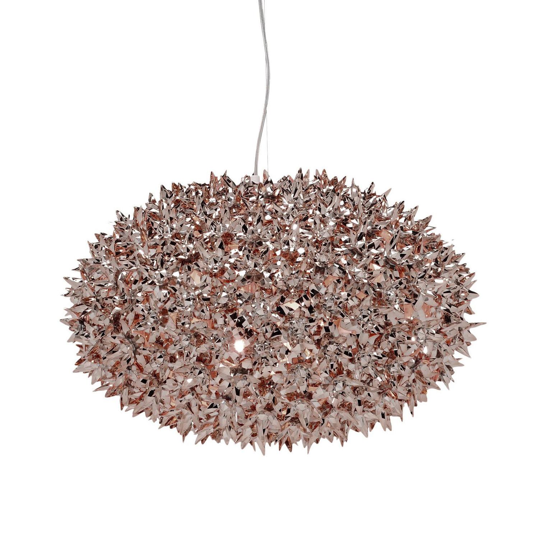 Bloom hanglamp Kartell Ø53 brons