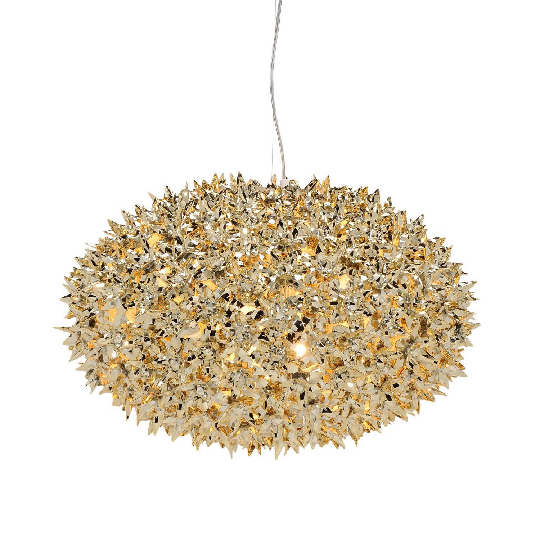 Bloom hanglamp Kartell Ø53 goud